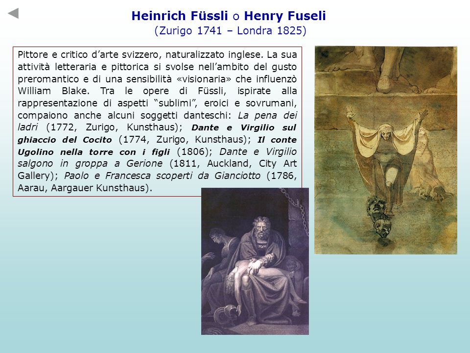 Heinrich Füssli o Henry Fuseli
