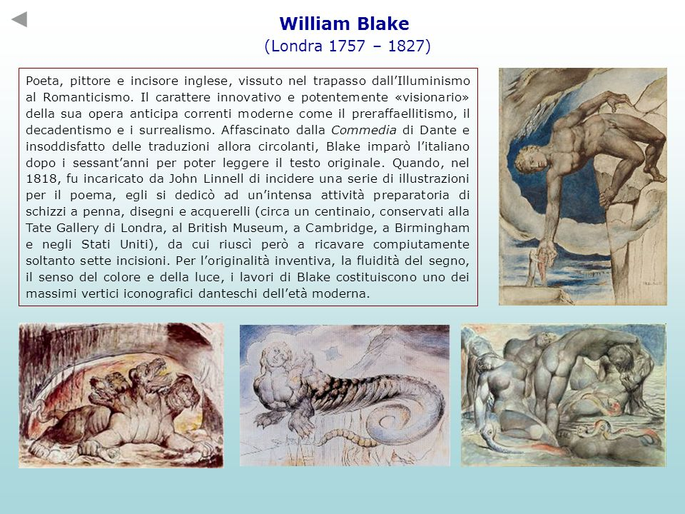 William Blake (Londra 1757 – 1827)
