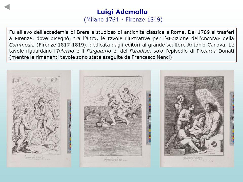 Luigi Ademollo (Milano 1764 - Firenze 1849)