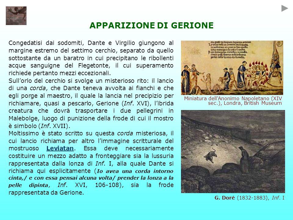 APPARIZIONE DI GERIONE
