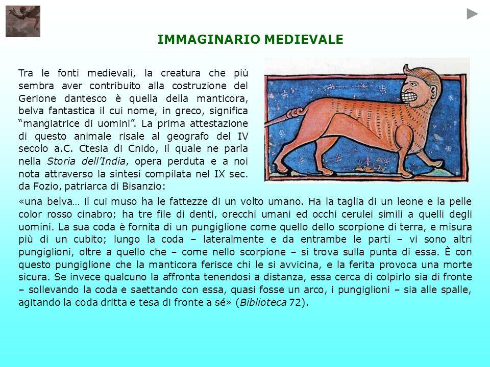 IMMAGINARIO MEDIEVALE