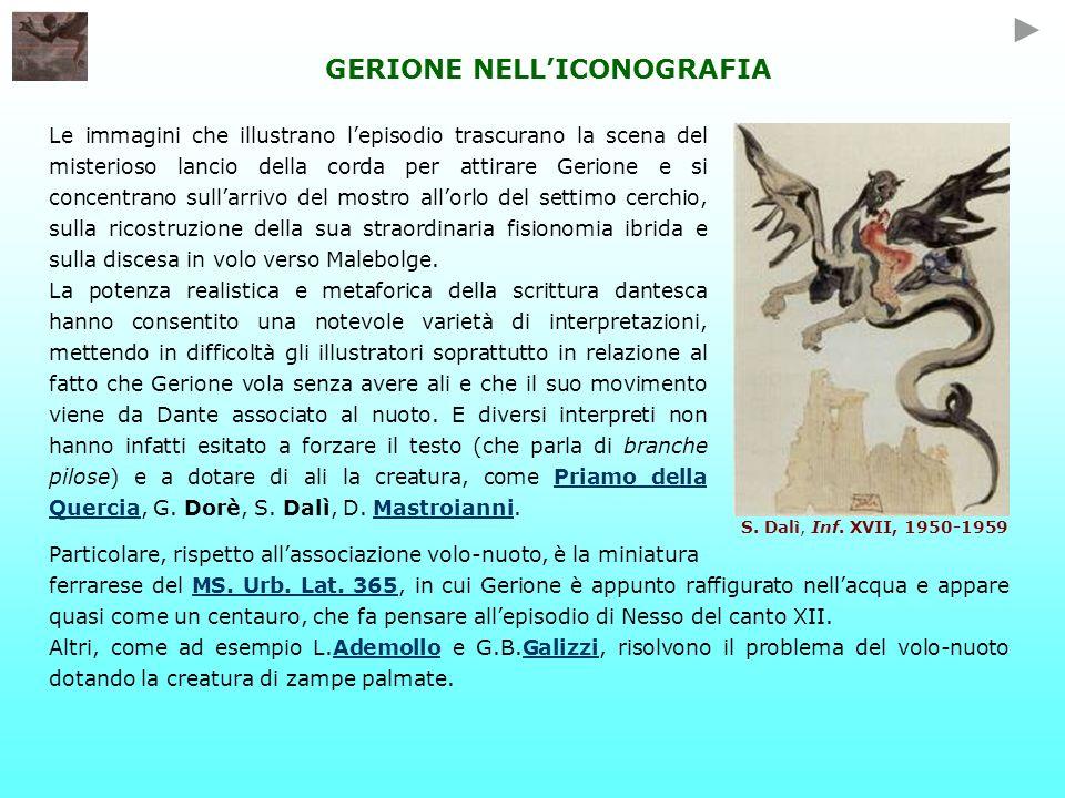 GERIONE NELL'ICONOGRAFIA