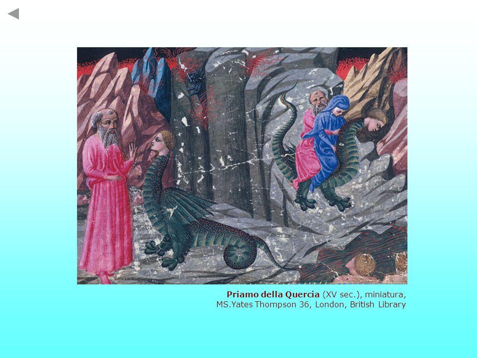 Priamo della Quercia (XV sec.), miniatura,