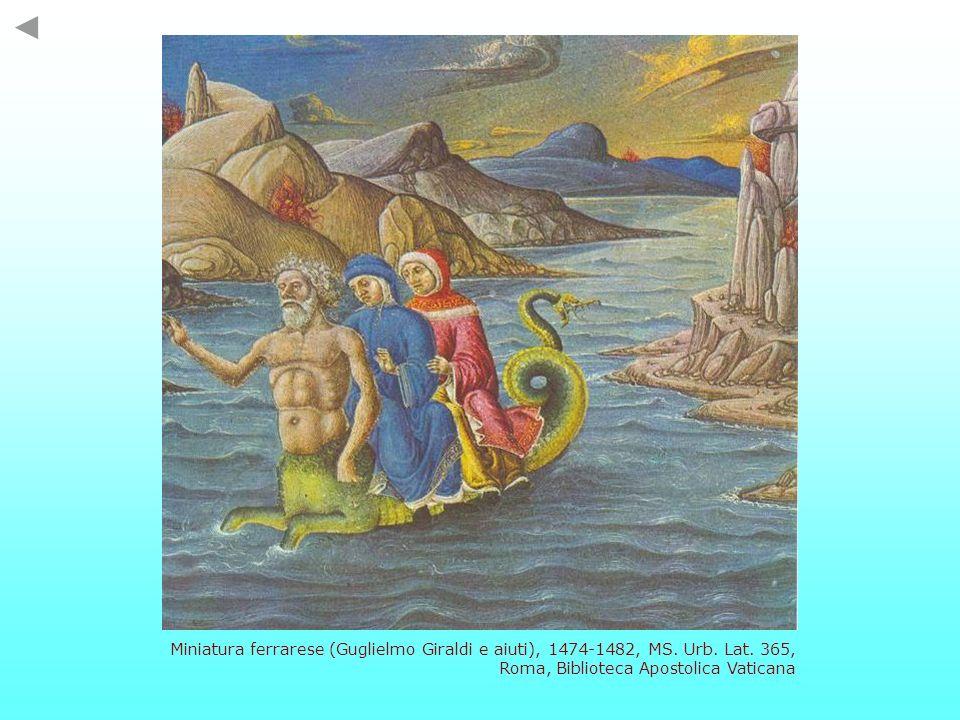 Miniatura ferrarese (Guglielmo Giraldi e aiuti), 1474-1482, MS. Urb