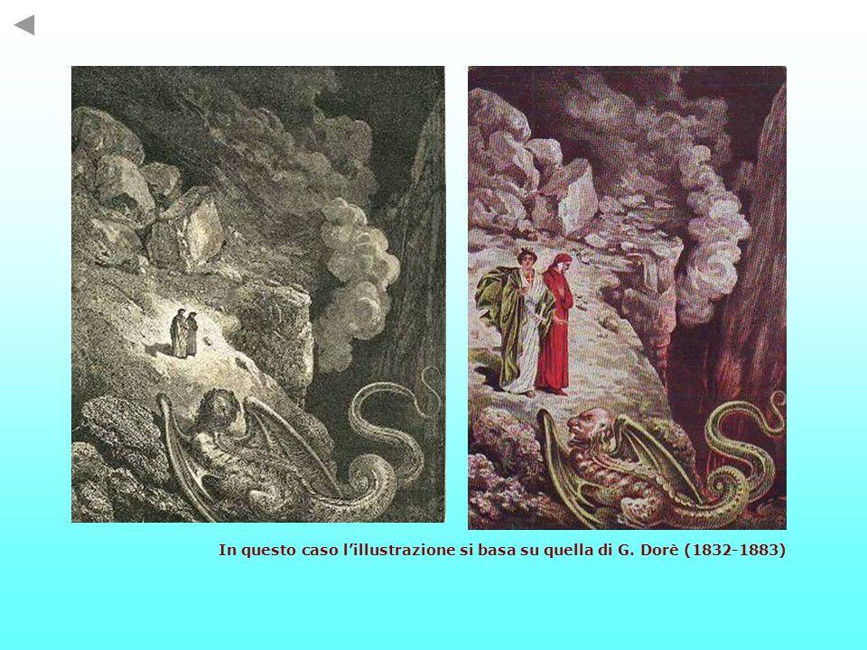 In questo caso l'illustrazione si basa su quella di G. Dorè (1832-1883)