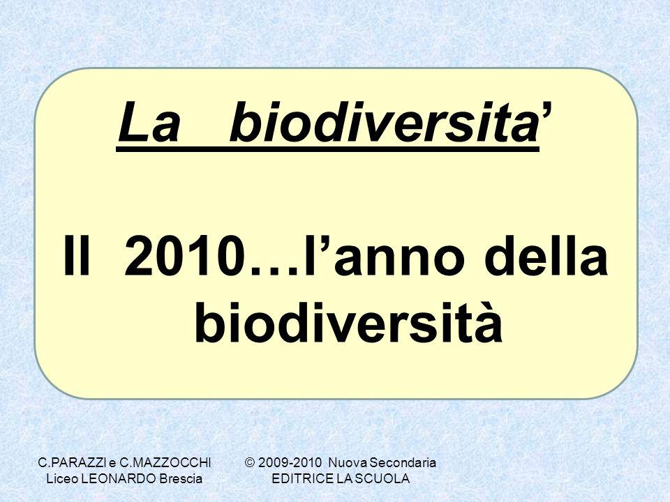 Il 2010…l'anno della biodiversità