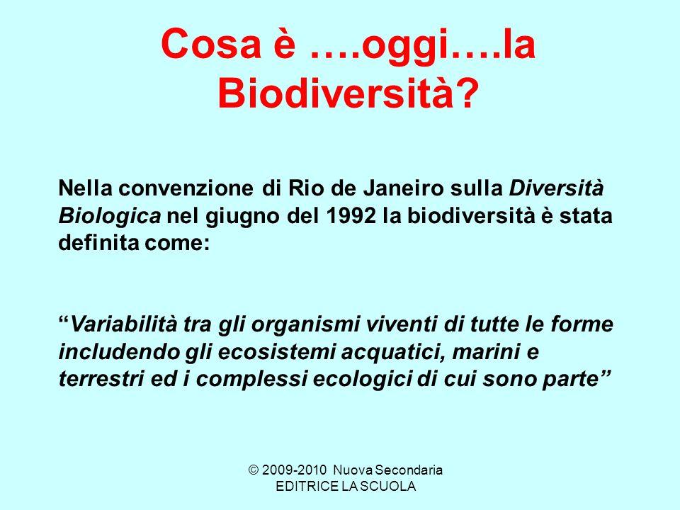 Cosa è ….oggi….la Biodiversità