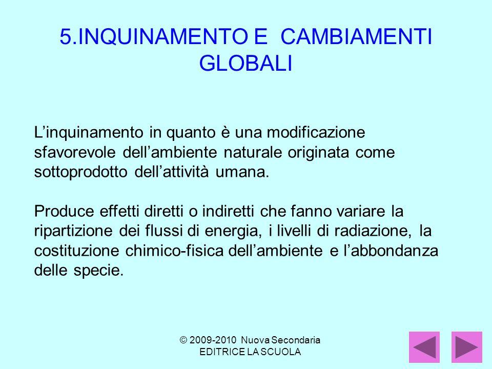 5.INQUINAMENTO E CAMBIAMENTI GLOBALI
