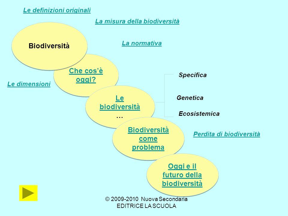 Biodiversità come problema