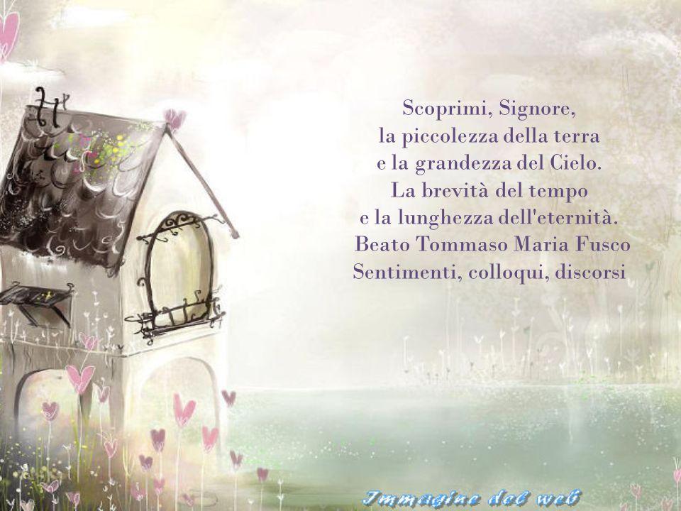 Beato Tommaso Maria Fusco Sentimenti, colloqui, discorsi