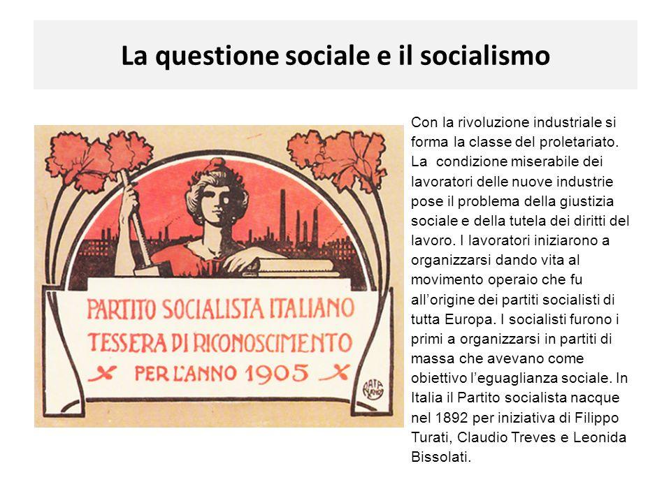 La questione sociale e il socialismo