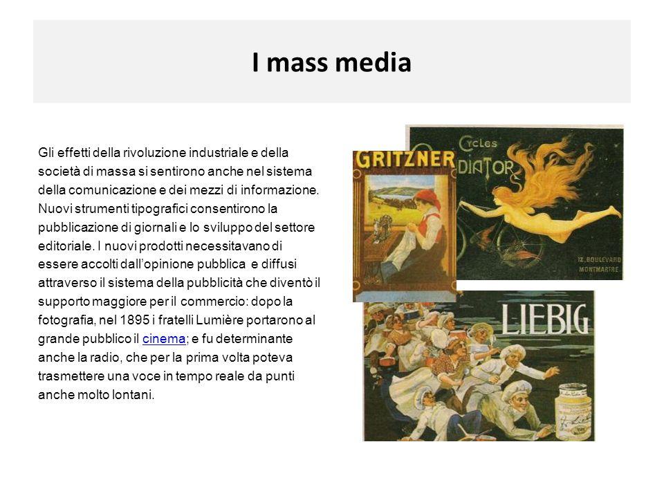 I mass media