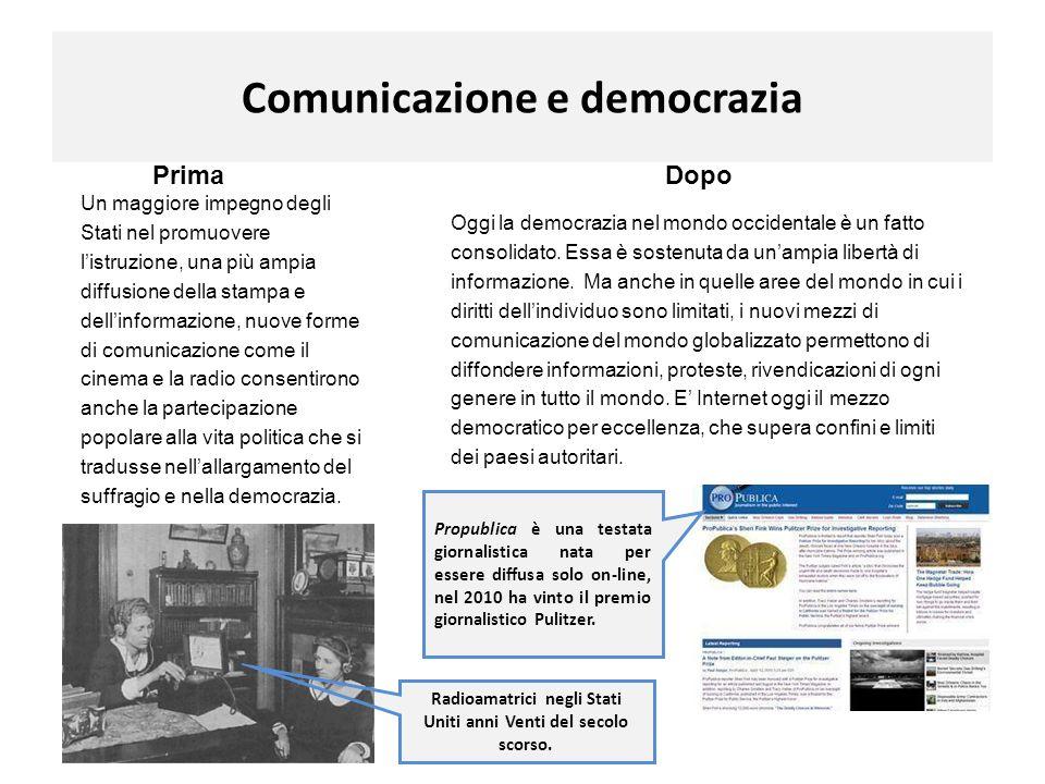 Comunicazione e democrazia