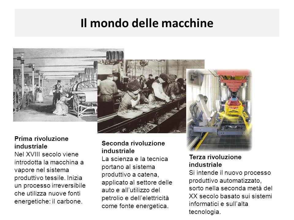 Il mondo delle macchine