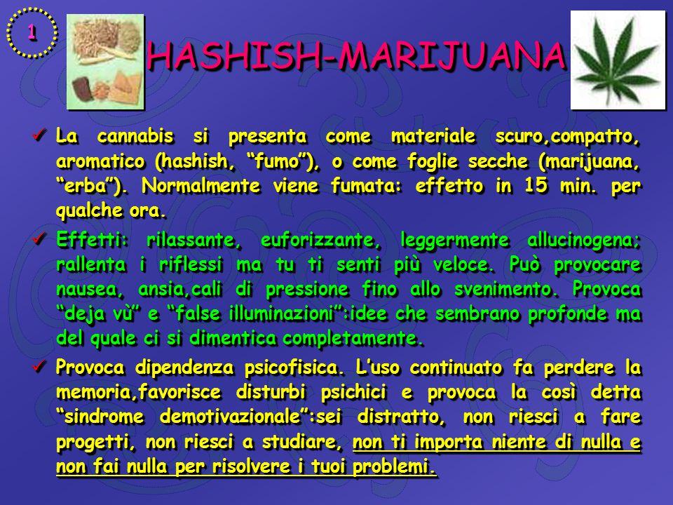 1 HASHISH-MARIJUANA.