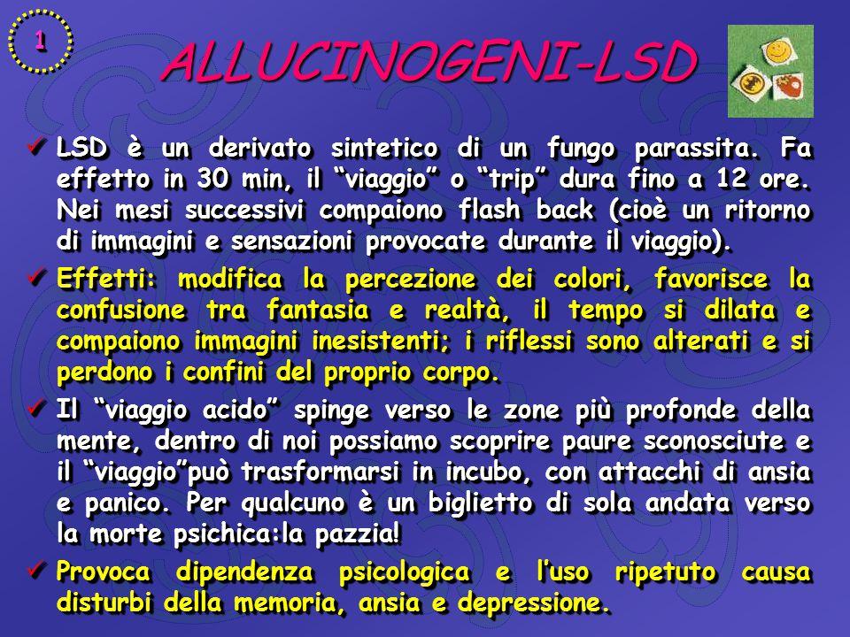 1 ALLUCINOGENI-LSD.