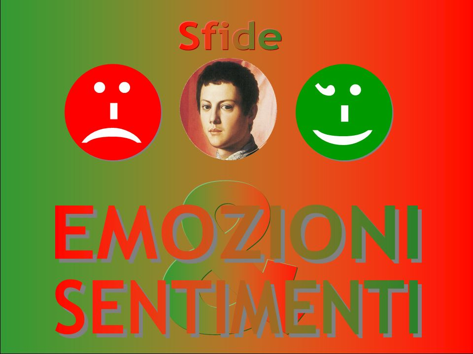 Sfide :-( ;-) & EMOZIONI SENTIMENTI