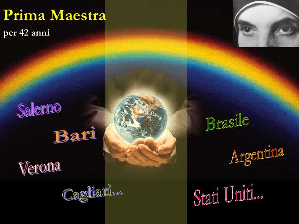 Prima Maestra per 42 anni Salerno Brasile Bari Argentina Verona