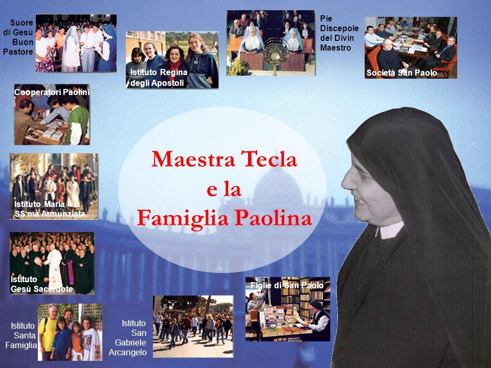 Maestra Tecla e la Famiglia Paolina