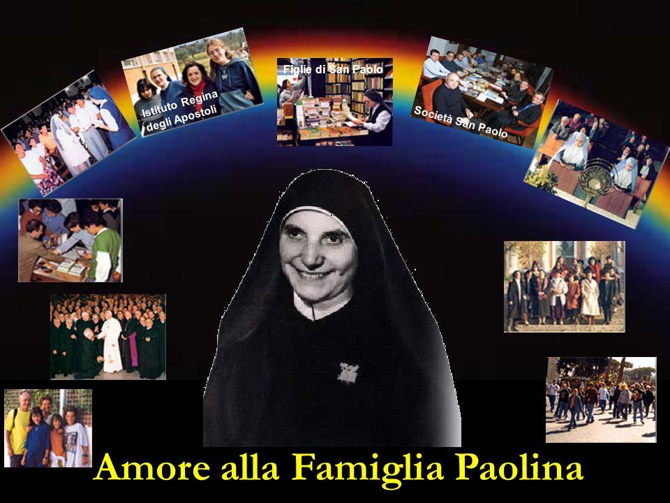 Amore alla Famiglia Paolina