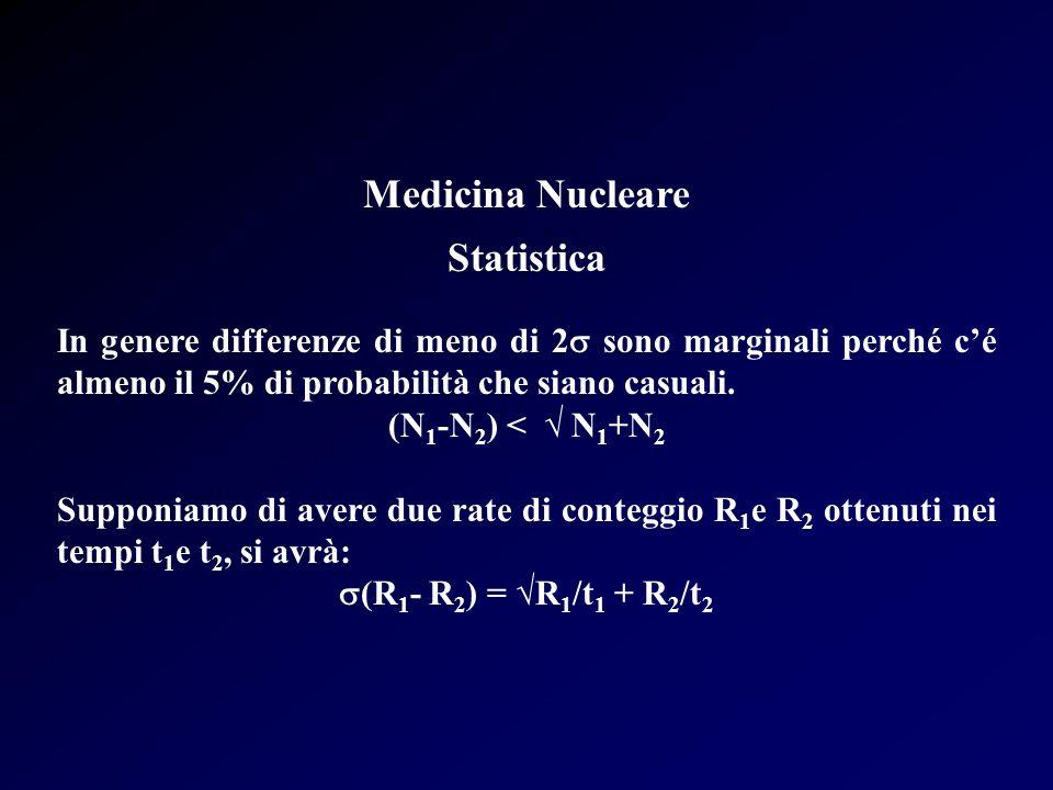 Medicina Nucleare Statistica