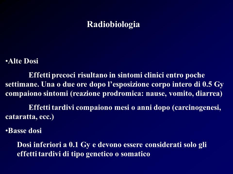 Radiobiologia Alte Dosi
