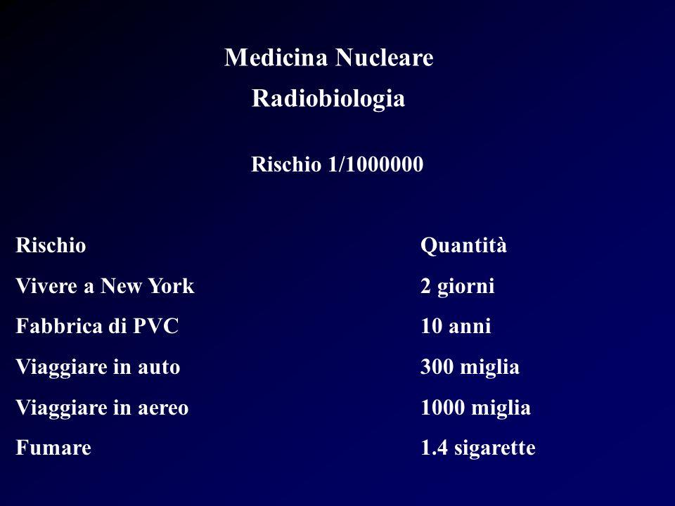 Medicina Nucleare Radiobiologia