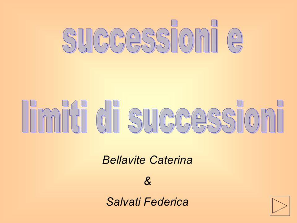successioni e limiti di successioni