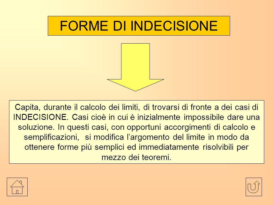 FORME DI INDECISIONE