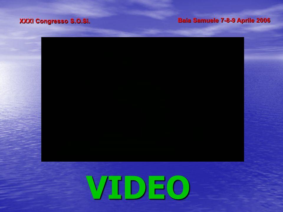 XXXI Congresso S.O.Si. Baia Samuele 7-8-9 Aprile 2006 VIDEO