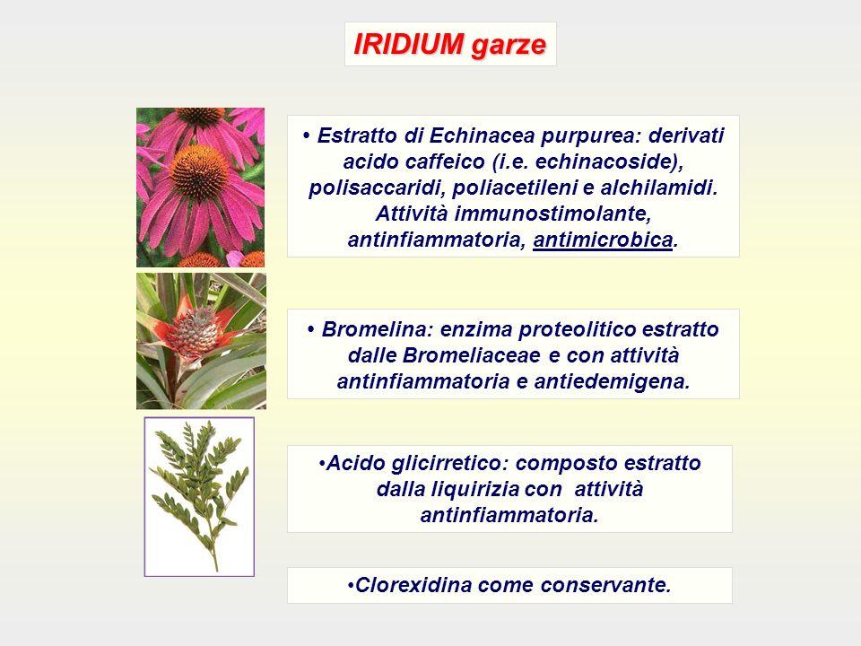 Clorexidina come conservante.