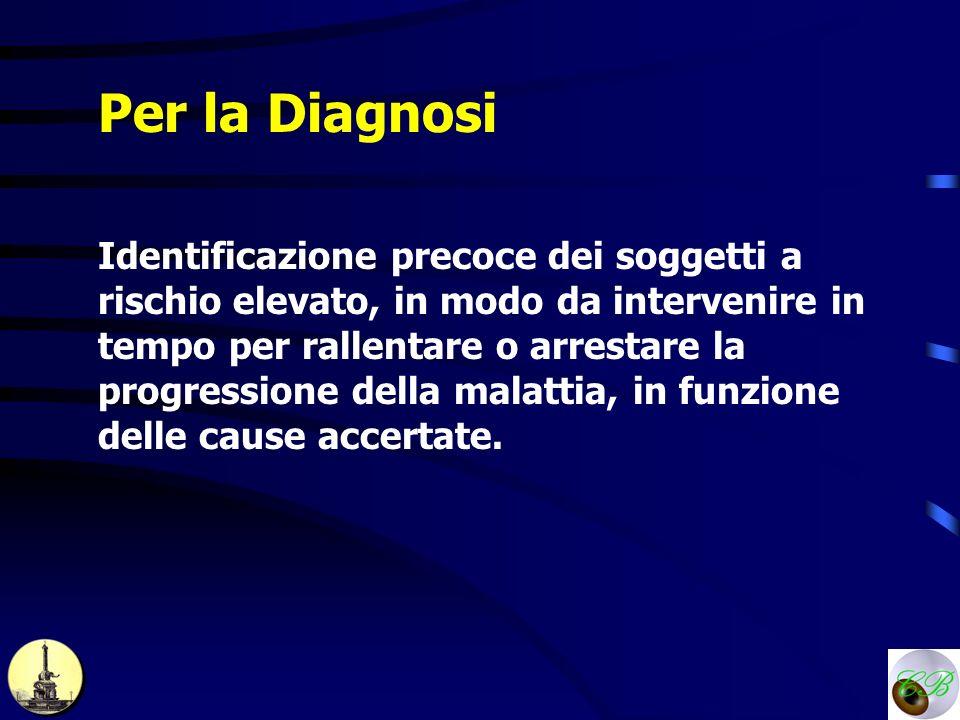 Per la Diagnosi
