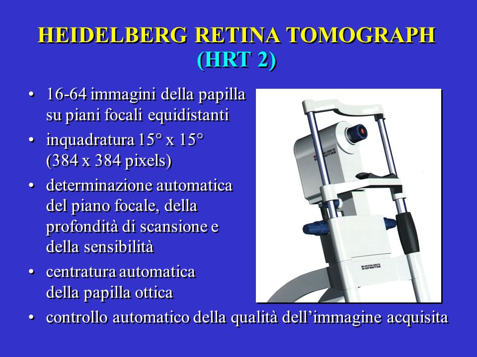 HEIDELBERG RETINA TOMOGRAPH (HRT 2)