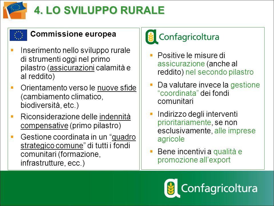 4. LO SVILUPPO RURALE Commissione europea
