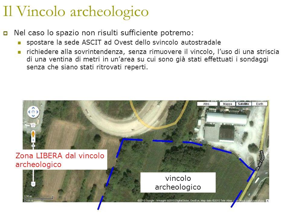 Il Vincolo archeologico