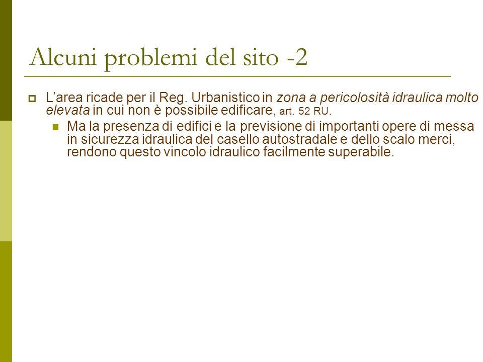 Alcuni problemi del sito -2