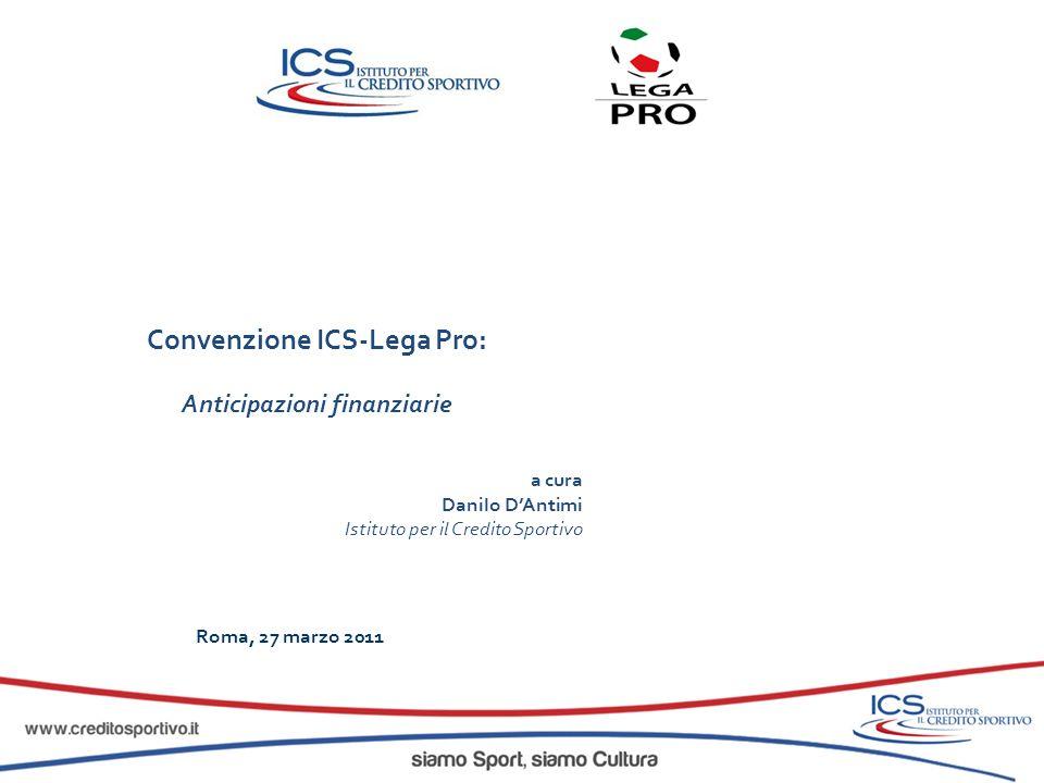 Convenzione ICS-Lega Pro: