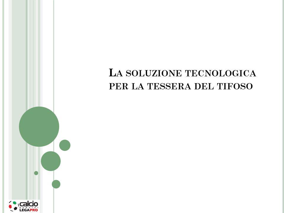La soluzione tecnologica per la tessera del tifoso