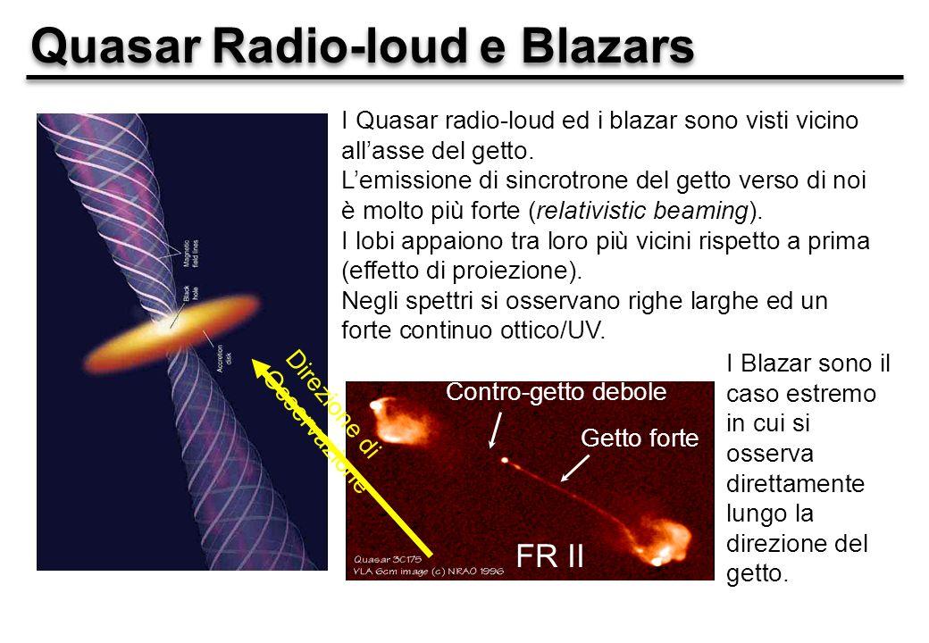 Quasar Radio-loud e Blazars
