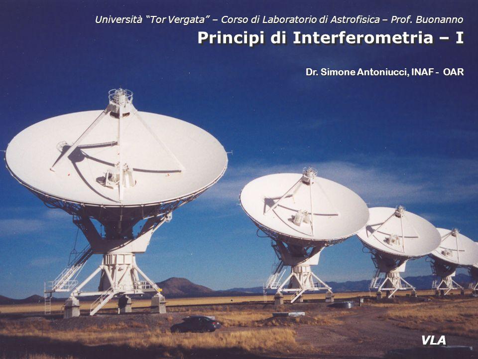 Principi di Interferometria – I