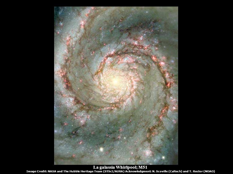 La galassia Whirlpool; M51