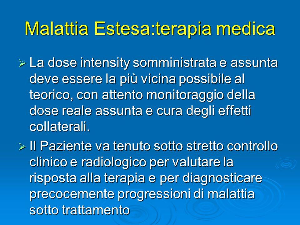 Malattia Estesa:terapia medica