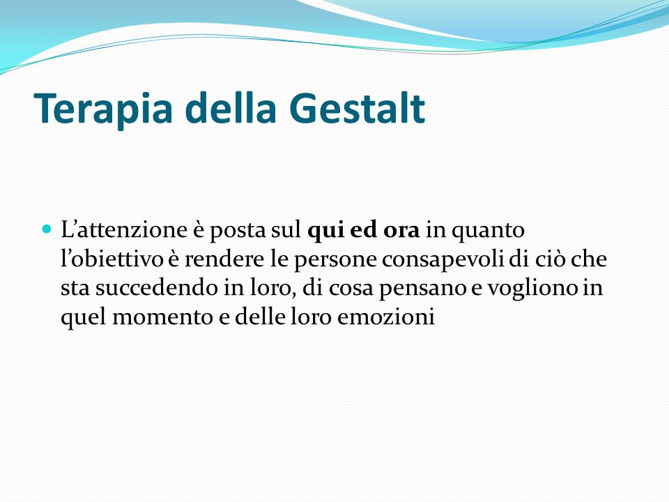 Terapia della Gestalt