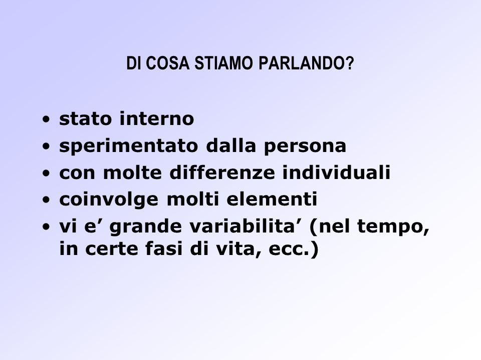 DI COSA STIAMO PARLANDO