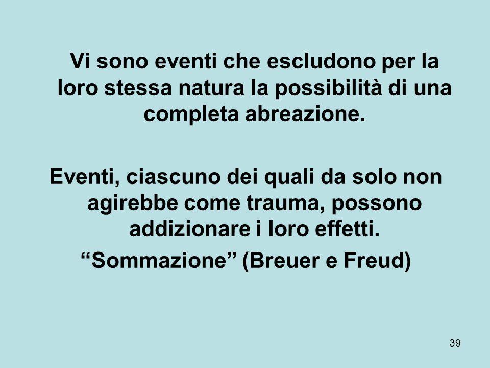 Sommazione (Breuer e Freud)