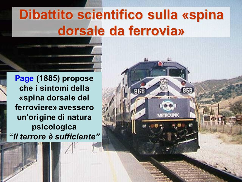 Dibattito scientifico sulla «spina dorsale da ferrovia»