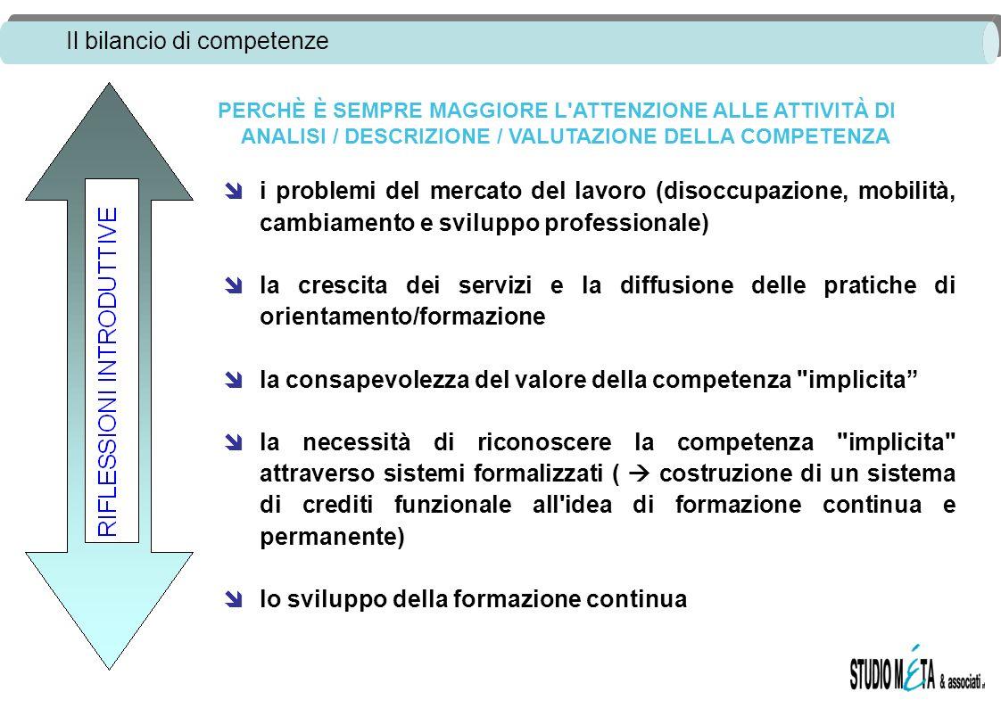 la consapevolezza del valore della competenza implicita