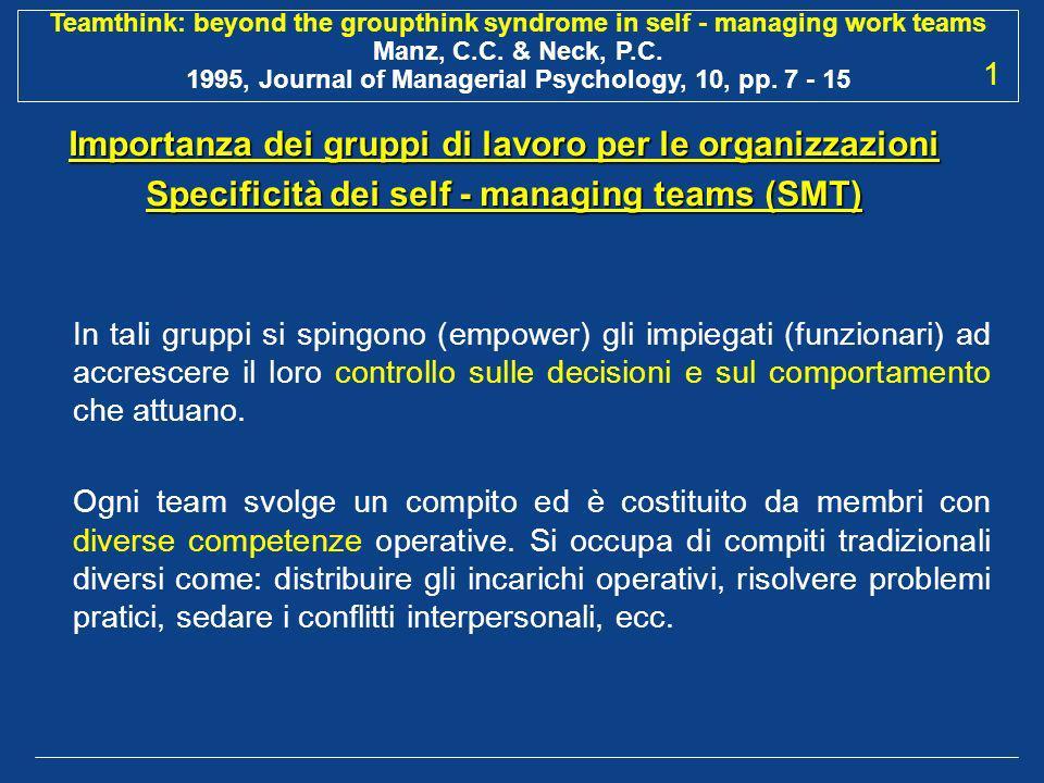 Importanza dei gruppi di lavoro per le organizzazioni