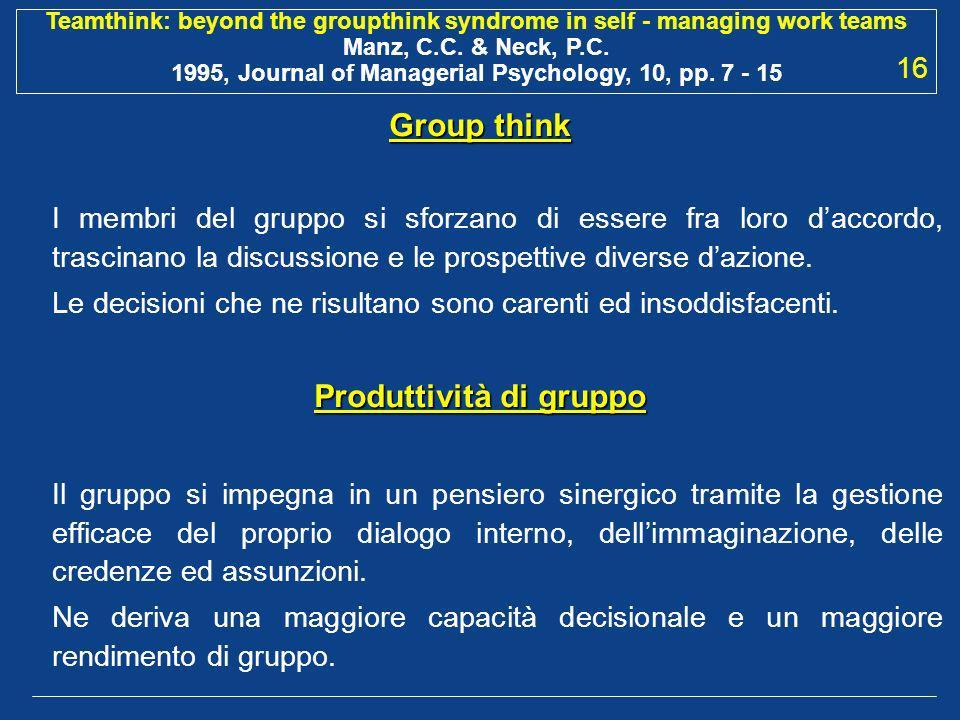 Produttività di gruppo