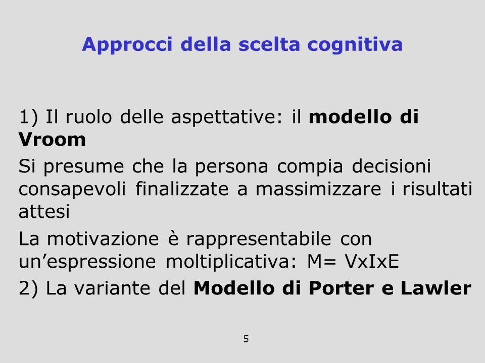 Approcci della scelta cognitiva
